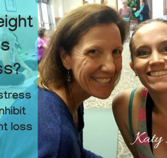 Weight Loss Stress? Relax don't inhibit your weight loss
